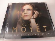 ALISON MOYET ~ THE BEST OF 25 YEARS REVISITED VG 2009 DBL-CD