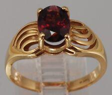 14 karat yellow gold, rubellite TOURMALINE Ring
