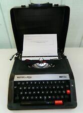Royal Me 25 Extra Roytype Portable Manual Typewriter Hard Case Blackred Ribbon