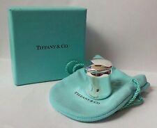 Tiffany & Co. Sterling Silver Elsa Peretti Thumbprint Trinket Pill Box Container