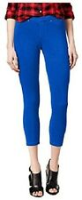 HUE Leggings SZ XL Sapphire Blue Original Denim Capri Casual Legging U16900H