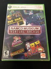 Namco Museum: Virtual Arcade Microsoft Xbox 360, 2008 NEW Factory Sealed Game