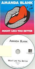 AMANDA BLANK Might like you Better RARE RADIO EDIT TST PRESS PROMO DJ CD Single