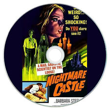 Nightmare Castle (1965) - Barbara Steele, Paul Muller, Helga Liné - Horror DVD