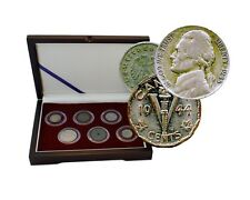 "D-Day: Box of 6 Coins from the WWII Invasion of Normandy  ""The Greatest Battle"""