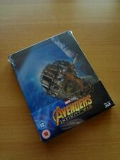 Avengers: Infinity War 3D (& 2D) Blu Ray Steelbook (Zavvi exclusive UK) SOLD OUT
