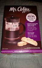 MR. COFFEE. 32 OZ  COFFEE PRESS   (CAFE OASIS) NEW IN BOX