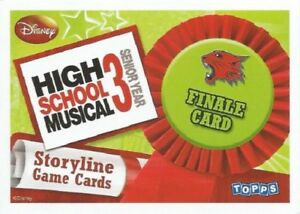 HIGH SCHOOL MUSICAL 3 STORYLINE SINGLES - FINALE CARDS