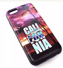 iPhone 6 6s California Sunset Beach Palm Tree credit Card  Protective Case Cover
