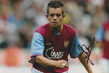 "Lee Hendrie signed 12x8"" Aston Villa photo / proof COA"
