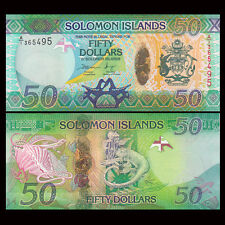 Salomonen / Solomon Islands 50 Dollars, ND 2013, P-35, UNC