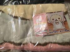 San-X Rilakkuma Koilakkuma Die Cut Big Blanket Cat 120x115