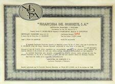 MEXICO B/51b FINANCIERA DEL NOROESTE SA (certificado por $100,000 pesos) año1968