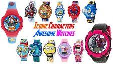 Frozen, Pokemon, Despicable Me, Skylander, Avengers, Sonic Digital Watches. NEW!