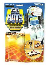 Hans-Cuff Vintage Go-Bots Action Figure Cardback & Bubble Only 1983 Tonka 80s