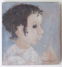 New Orleans Louisiana Woman Artist Portrait Painting Josephine Marien Crawford