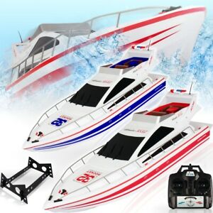 RC 2,4 GHz Speedboot 25kmh Ferngesteuert Yacht 70cm Schiff Renn Boot Akku RTR