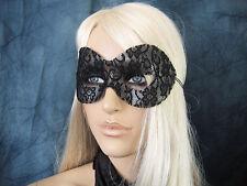 Maschera LACE pizzo nero, veneziane Domino, cosplay, Shades of Grey, Gothic