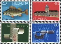 Schweiz 1245-1248 (kompl.Ausgabe) postfrisch 1983 Jahresereignisse