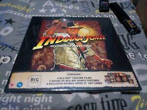 Indiana Jones: The Complete Adventures 5 Blu-ray Discs - Ltd Big Sleeve Edition