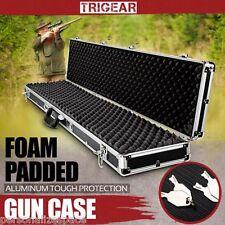 Trigear Hunting Rifle Shot Gun Hard Carry Case Portable Aluminium Frame Box AU