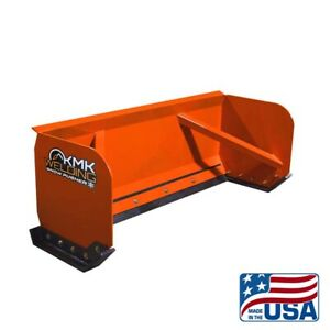 6' SKID STEER SNOW PUSHER BOX/BOBCAT/KUBOTA/QUICK ATTACH/FREE SHIPPING