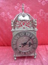 belle, antique Pendule__métal __35cm , 4kg__Schmid__Montre__