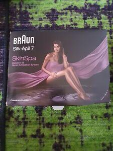 BRAUN Silk epil 7 SkinSpa Epilation & Sonic Exfoliation System