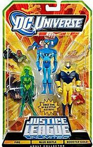 DC Universe__Justice League Unlimited__FIRE_BLUE BEETLE_BOOSTER GOLD figures_MIP