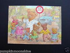 "Unused Molly Brett Greeting Post Card "" Lollipop Bear "" Medici Ltd. England"