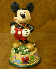 "Jim Shore Disney  Traditions #4033962 MICKEY MOUSE, MAY BIRTHDAY, Enesco NIB 4"""