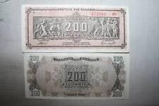 200.000.000 DRACMAS  DE GRECIA  1944,  2ª GUERRA MUNDIAL MBC ANTIGUO