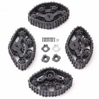 4pcs Snow Tires Tracks Wheels for WPL 2.4G Remote Control RC Truck 4WD Parts