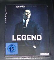 Legend (Légende) Avec Tom Hardy Limitée steelbook blu ray Rapide Envoi Neuf &