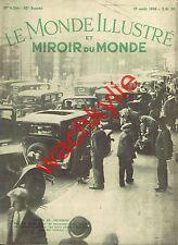 Le monde illustré 27/08/1938 Hlinka Refuge Vallot Parachutisme Jeanne Granier