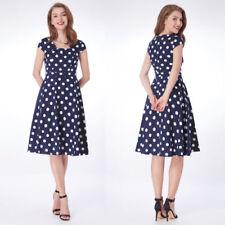 Polka Dot Hand-wash Only Dresses for Women's Shift Dresses