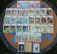 Quartett Kartenspiel Peterspiel Pinocchio Verlag für Lehrmittel Pößneck DDR