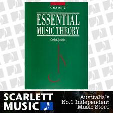 Essential Music Theory Grade 2 ( Two ) - Gordon Spearritt Book