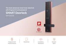 NEW SAMSUNG EZON Smart Fingerprint Digital Door Lock SHP-DH538BC