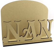 Nan LETTERA POSTA POST Rack-Laser Cut 6mm MDF-Mother 's Giorno Regalo Idea
