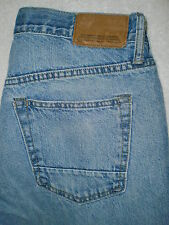 Old Navy Brand Premium Loose Fit Straight Leg Mens Jeans 31 X 30 Distressed