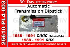 Genuine OEM Honda Civic CRX Automatic Transmission Dipstick ATF 1988-1991
