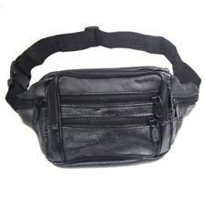 F7 100 Leather Bum Bag With 7 Pockets Waist Belt Wallet F6