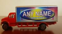Personalised Name Toy Truck / Lorry - Any name