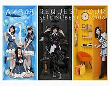 New AKB48 Group Request Hour Setlist Best 100 2016 6 Blu-ray Booklet Photo Japan