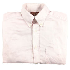 RM Williams Men's Long Sleeve Button Down Pink Shirt Sz Small Made In Australia