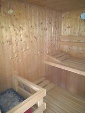 Sauna, komplett, gebraucht, gut erhalten