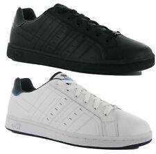 Lonsdale Leyton Herren Leder Schuhe Gr 41 42 43 44 45 46 47 48 49 50 Sneaker neu