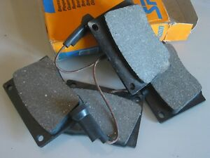 ROVER 3500 & 3500S  P6 FRONT BRAKE PADS WIRED NOS GENUINE SPIDAN BOXED