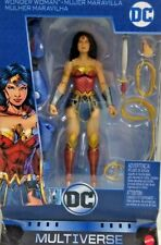 "Dc Multiverse Wonder Woman 6"" Figure with Lex Luther Collect & Connect Nib"